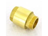 Клапан обратный пружинный с металлическим затвором НВ 1